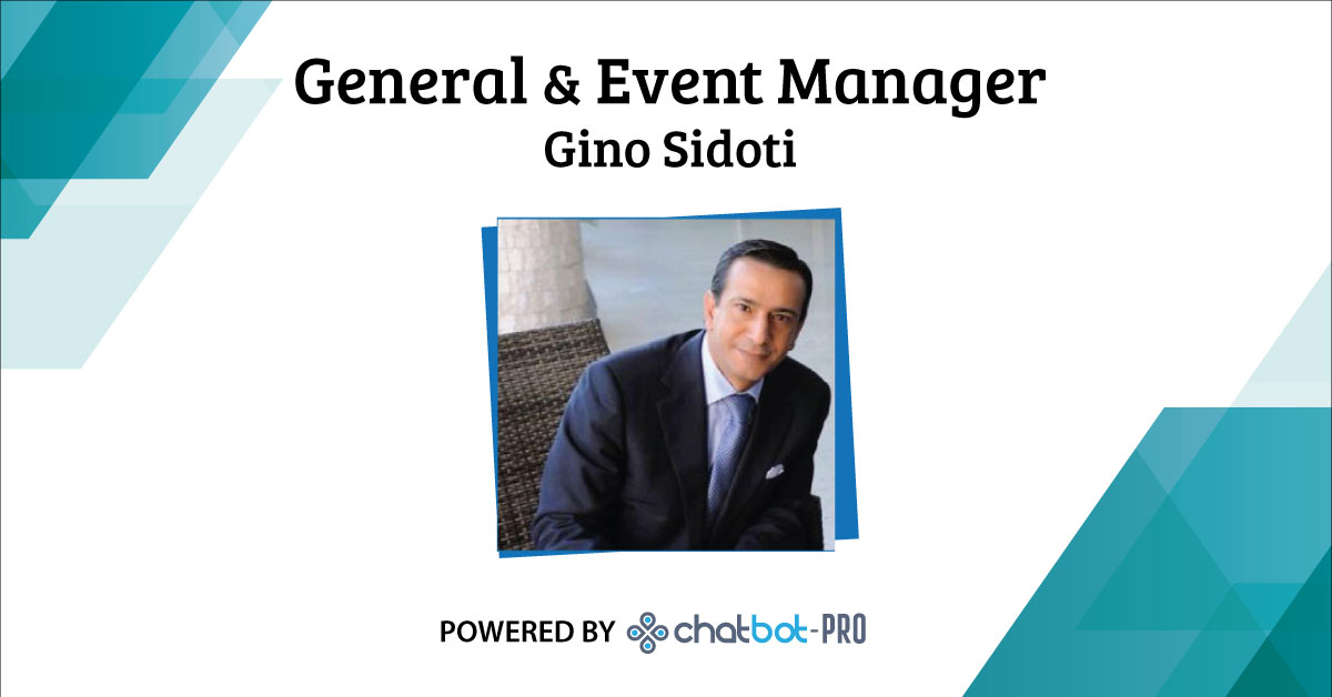 ChatBot - General & Event Manager Gino Sidoti - Messina